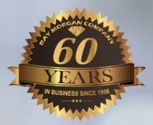 Ray Morgan Company 60th Anniversary Logo